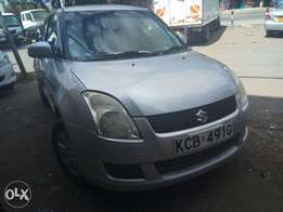 Suzuki Swift clean fully loaded KCB registration