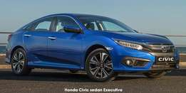Brand New Honda Civic From Only R330 000.00!!