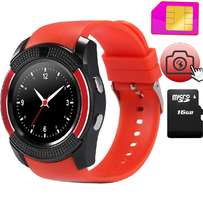 Original V8 Smartwatch with Sim Toolkit and Social Media Acces