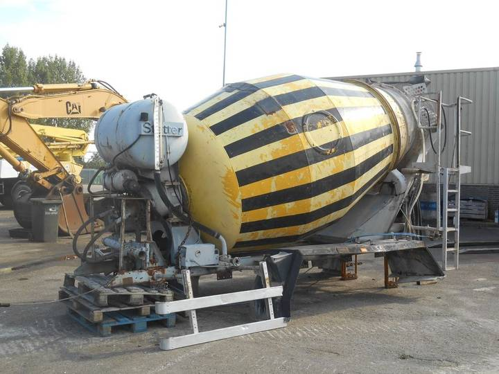 Stetter AM6FH Mixer 6000L 6CBM Good Working - 1989
