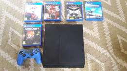 2016 PS 4 with games