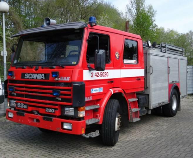 Scania 93M 280 Feuerwehr / Fire / - 1989