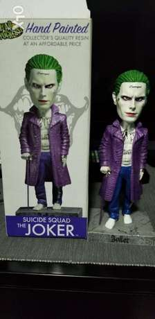The Joker ..suicide Squad hand painted figure