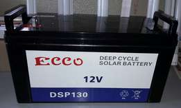 ECCO 130AH NEW Deep CYCLE batteries