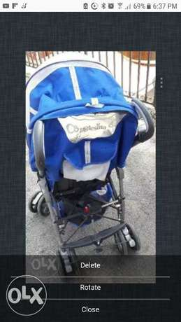 Poussette 1er age + car seat Inglesina Brand (Made in Italy)