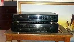 Marantz PM-47 Integrated Amplifier and CD-43 CD Player.