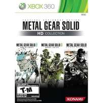 XBox 360 Metalgear Solid HD Collection