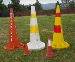 Road Cones Road Equipment Road Safety