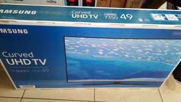 49 inch CURVED Smart UHD samsung Tv