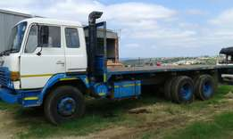 Hino 26-240 flat deck double Diff