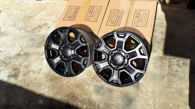 Ford Ranger 16inch Black Coated Rims Cosmo City - image 1