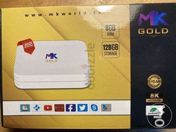 MK new version Android TV box All Channels