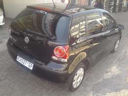 2007 polo 1.4 Trendline black colour with 103000km available for sale