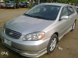 Toyota corolla for sale in a very good