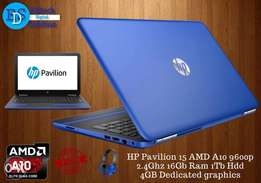 New Hp Pavilion 15 Quad Core 2.4ghz 16 gb ram 1tb Hdd