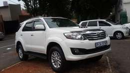 2013 toyota fortuner 3.0 d4d for sale