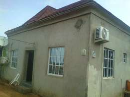 A newly built 3bedroom semi-detached for sale at Lugbe, FHA
