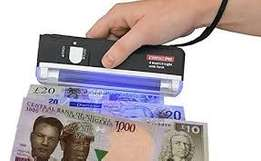 Fake Money Detector (AA Batery)
