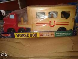 Horse Box and Flat Low truck