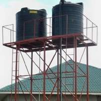 Water tank stand