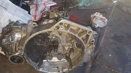 VR6 motor and gearbox