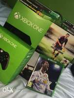 Xbox one + 2controllers +game of choice