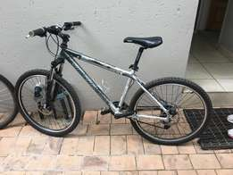 2x Silverback Mountain bikes(M) in an excellent condition