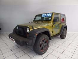 2008 Jeep wrangler 3.8 Rubicon edition