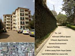 Kilimani office space to let