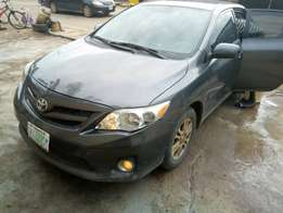 A very clean Toyota Corolla 2011 model