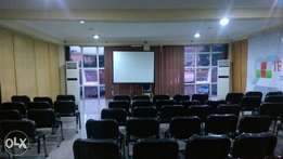 Clean halls for rent for event,seminars,programme.