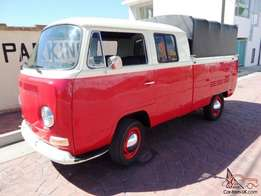VW Kombi double cab 1977 for sale