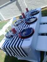 Events planning, decor services
