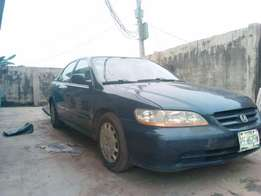 Blue Honda Accord BabyBoy ..I4 Engine