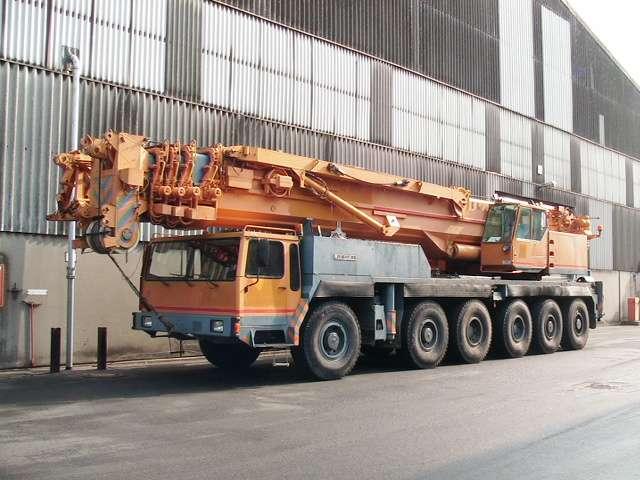 Liebherr LTM 1200 Main Boom 54,5 mtr + Fix jib 22 Luffing jib 63 mtr - 1991 - image 3