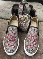 Gucci sneakers and belt - unisex