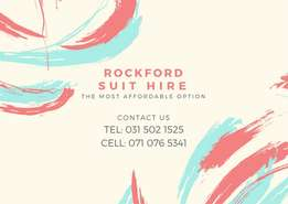 Rockford Suit Hire