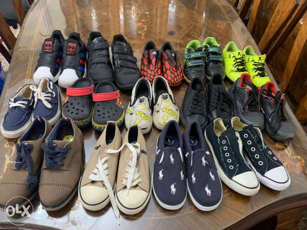 new and used kids shoes
