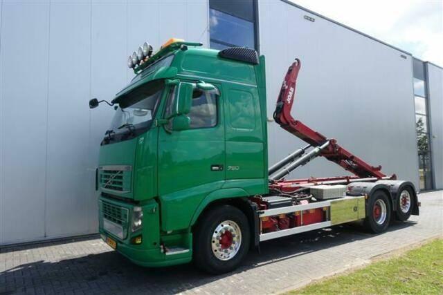 Volvo FH750 6X2 GLOBE XL RETARDER JOAB HUB REDUCTION E - 2013