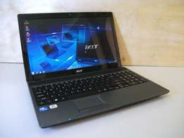 Acer laptop for sale,4gb ram,500gb hdd, clean condition R2400.00