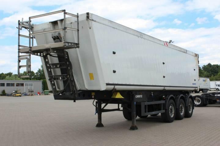 Schmitz Cargobull SKI 24 6400kg 48m3 Liftachse Top Zustand - 2011