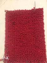 plain sharp red colour rug for walkway,rooms,office,events