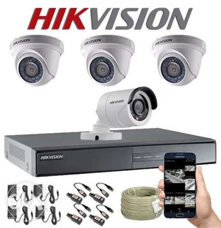 CCTV HIK Vision Camera 4 Chanel 99 OMR Only