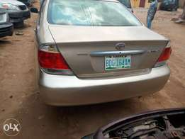 Registered 2006 model toyota camry v4 in an excellent working conditio