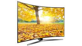 new brand 55 inch samsung 4k uhd smart tv curved series 7 in cbd shop