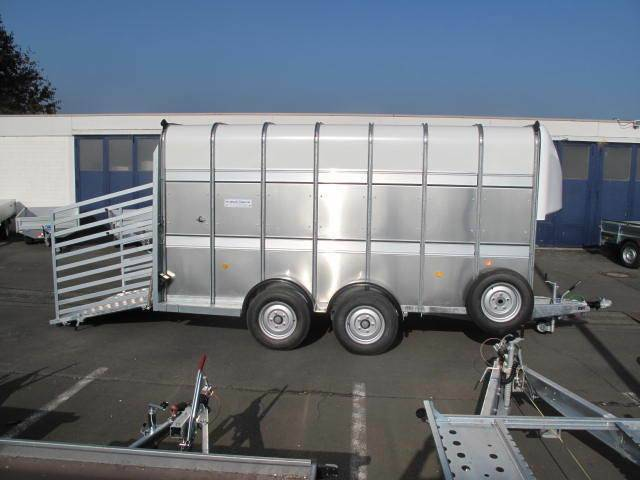 Ifor Williams TA510 14x7 Zoll, 427x178x214cm Rampe 3,5 t - 2019