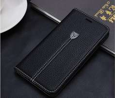 Leather iPhone flip covers