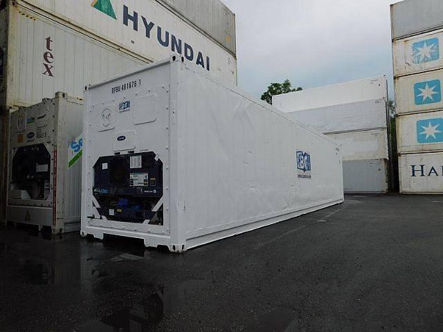 Carrier 40 ft. hc  kühlcontainer kühlzelle kühlbot - 2005