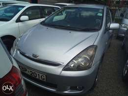 Toyota wish clean fully loaded silver 1800cc