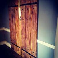 Barn door and wall cladding